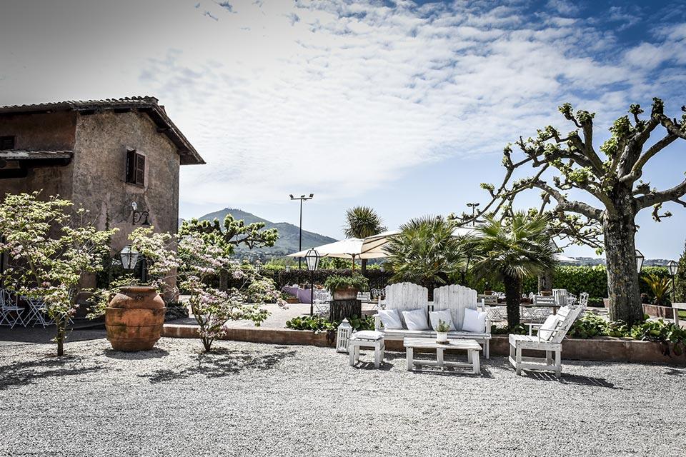 Vecchio Podere, la location per ricevimenti ai Castelli Romani.